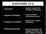 FLASHCARDS (1.1)