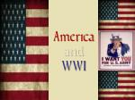 America and WWI