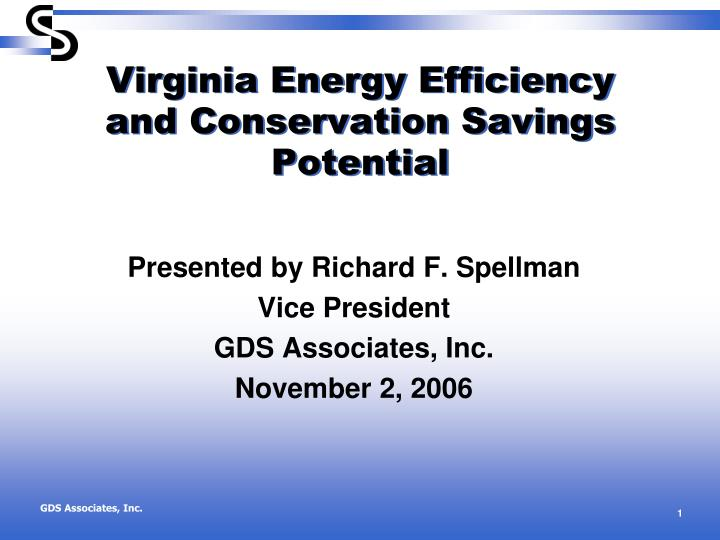 virginia energy efficiency and conservation savings potential n.