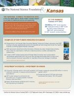 BY THE NUMBERS Kansas in FY 2012 $49 Million : NSF funds awarded 28 th : National ranking in NSF funds 10 : NSF-funded i