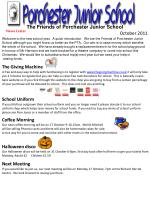 Welcome to the new school year. A quick introduction. We are the Friends of Porchester Junior