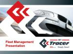 Fleet Management  Presentation