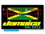 F ive T hemes of G eography STARRING Jamaica !!!!!!!