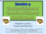 Session 4  Constructivism and Theories of Literacy Development