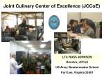 Joint Culinary Center of Excellence (JCCoE)