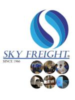 Sitting (from left to right): Concepcion T. Maclang - Asst. Vice Pres. Brokerage Operations- CTMaclang@skyfreight.co