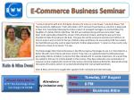 E-Commerce Business Seminar
