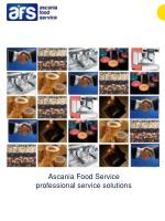 Ascania  Food Service  professional service solutions