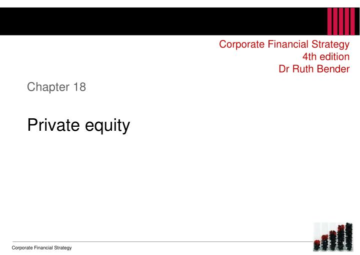 chapter 18 private equity n.