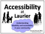 Accessibility Laurier