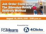 Moderator Robert Gair Principal, RSMeans Business Solutions 20 +years of construction industry experience in cost mode
