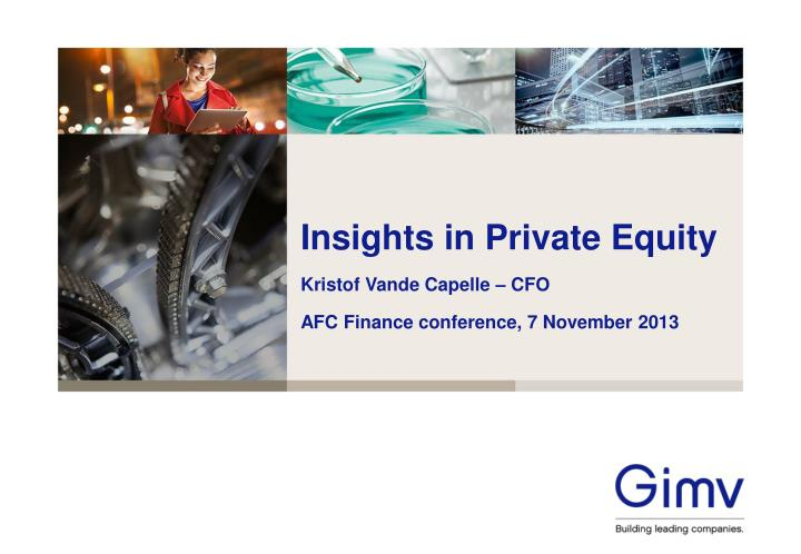 insights in private equity n.