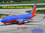 NWS Aviation Weather Meeting