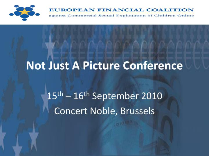 not just a picture conference n.