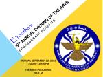 E'rootha's 5 th Annual Evening of the Arts