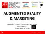 AUGMENTED REALITY & MARKETING