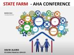 """STATE FARM - AHA CONFERENCE MARCH 2014 """"For Internal Use Only"""""""