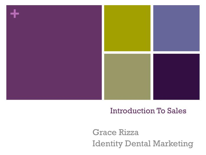 introduction to sales n.