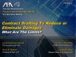 American Bar Association Forum on the Construction Industry 2013 Mid Winter Meeting