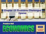 Chapter 13: Economic Challenges Opener