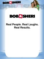 Real People. Real Laughs.            Real  Results.