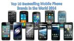 Top 10 Best-selling Mobile Phone Brands in the World 2014