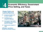 Economic Efficiency, Government Price Setting, and Taxes