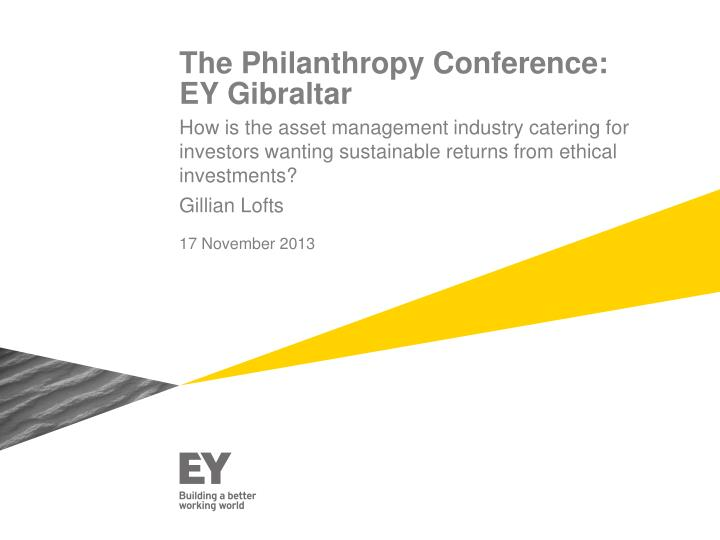 the philanthropy conference ey gibraltar n.