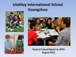 Utahloy International School Guangzhou
