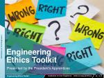 Engineering Ethics Toolkit