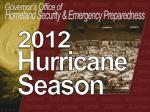 Homeland Security  &  Emergency Preparedness