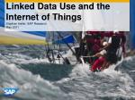 Linked Data Use and the Internet of Things
