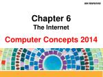 Chapter 6 The Internet