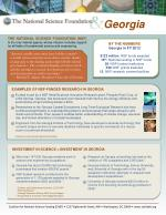 BY THE NUMBERS Georgia in FY 2012 $122 million : NSF funds awarded 19 th : National ranking in NSF funds 39 : NSF-funded