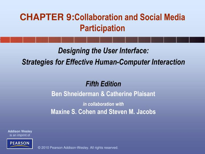 chapter 9 collaboration and social media participation n.