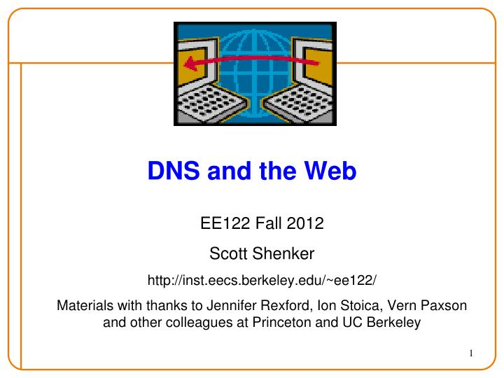 dns and the web n.