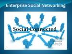 Enterprise Social Networking