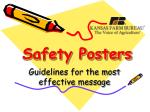 Safety Posters