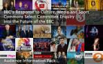 BBC's Response to Culture, Media and Sport Commons Select Committee Enquiry into the Future of the BBC