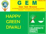 HAPPY GREEN DIWALI