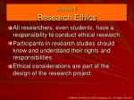 Chapter 5 Research Ethics