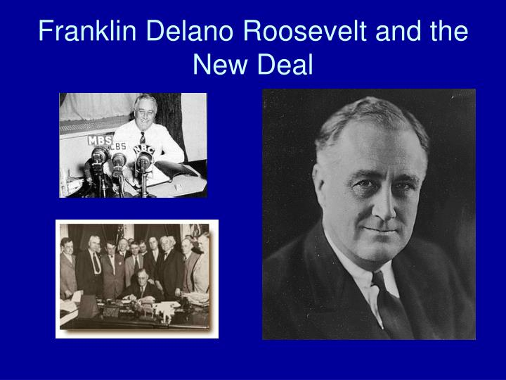 franklin delano roosevelt and the new deal n.