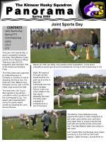 CONTENTS - Joint Sports Day - Spring FTX - Commissioning - LDAC - CTLT - LTC