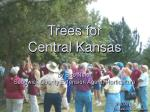 Trees for Central Kansas by Bob Neier Sedgwick County Extension Agent, Horticulture