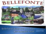 Bellefonte Waterfront District Revitalization Plan
