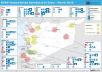 ECHO Humanitarian Assistance in Syria - March 2013