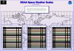 NOAA Space Weather Scales