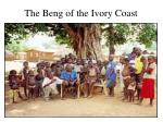 The Beng of the Ivory Coast