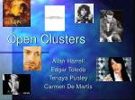 Open Clusters