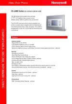 """RS-485 based wall-mounted home controller 5"""" TFT LCD display meets customer needs  Modern design delivers greatest user"""